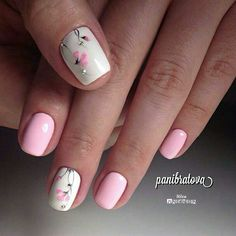 Nails floral 50 Beautiful Floral Nail Designs For Spring - Page 30 of 50 50 Beautiful Floral Nail Designs For Spring - Page 30 of 50 - Chic Hostess Nail Designs Spring, Cool Nail Designs, Spring Nails, Summer Nails, Nailart, Beauty And Fashion, Flower Nails, Creative Nails, Perfect Nails
