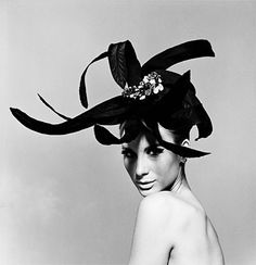 black feathers with gems #hat #headpiece