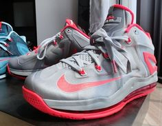 Nike LeBron 11 Low Grey & Pink (First Look Photos)