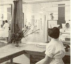 Tauranga Hospital Nurses Station 1964