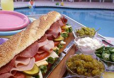 Antipasto Gondola Sandwiches | MrFood.com