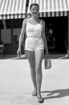 Gene Tierney looking flawless circa 1951.