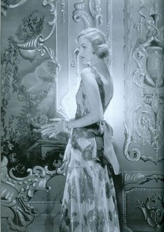 American heiress & art collectors, Doris Duke photographed by Horst