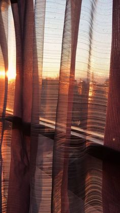 A beautiful sunrise in Tuscany behind see through curtains Orange Aesthetic, Sky Aesthetic, Aesthetic Images, Aesthetic Rooms, Aesthetic Photo, Aesthetic Pastel Wallpaper, Aesthetic Wallpapers, Profile Pictures Instagram, Artsy Photos