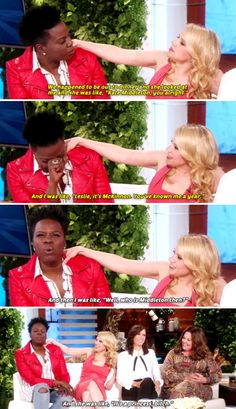 This example of why her friendship with Leslie Jones is one for the ages. | 19 Moments That Will Reinforce Your Crush On Kate McKinnon