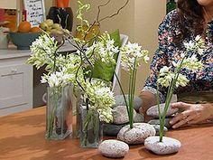 Manualidades y Artesanías   Arreglo floral estilo Zen   Utilisima.com