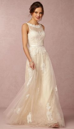 Beautiful wedding dress | new at BHLDN