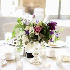 Bold Plum meets Simplistic Elegance Wedding by Kate Wenzel Photography.