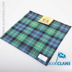 Gordon Ancient Tartan Handkerchief. Free worldwide shipping available
