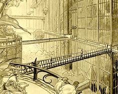 Les cités obscures (De Duistere Steden), Schuiten & Peeters. Please let me know if you know of anything similar to this kind of steampunk urbanistic phantasm.