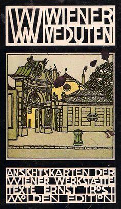 Wiener Werkstatte postcard