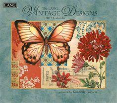 Kimberly Poloson- Vintage Design 2015 wall calendar