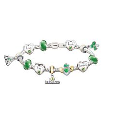 Irish Blessings Bracelet - I bought this for myself for my Birthday