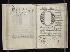 16th-Century Pattern Book for Scribes | The Public Domain Review