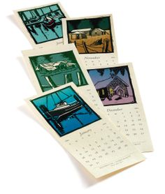 Calendar designed and printed by Jim RImmer