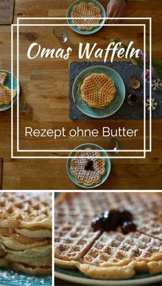 Waffeln ohne Butter