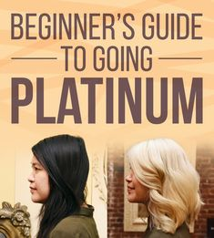 Excellent Pics platinum Hair Makeup Ideas Dyeing your own hair can often be an … - Platinum Blonde Hair Black To Blonde Hair, Blonde Asian, Brown To Blonde, Asian Hair, Dark Hair, Blonde Hair Upkeep, Dark Brown, Brown Hair, Going Platinum Blonde
