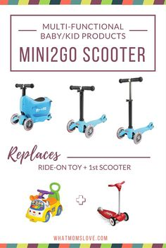The Mini2Go scooter