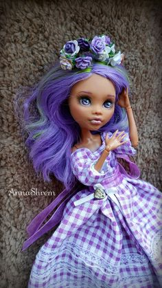 OOAK Monster High by AnnaShrem