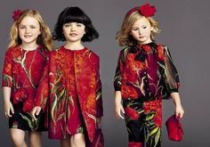dolce and gabbana summer 2015 child collection 01