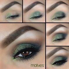 Green Envy by #elymarino #motivescosmetics