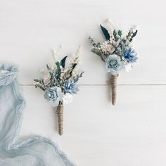 Mom Quotes From Daughter Discover Flower boutonniere Blue Button hole Fiance boutonniere Groomsman boutonniere Rustic wedding Wedding Flower Guide, Lilac Wedding, Blue Wedding Flowers, Floral Wedding, Wedding Colors, Wedding Bouquets, Rustic Wedding, Wedding Day, Wedding Centerpieces
