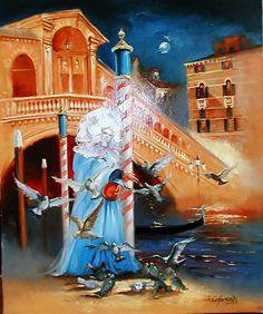''Rialto'' Venice Carnaval. Georges Corominas