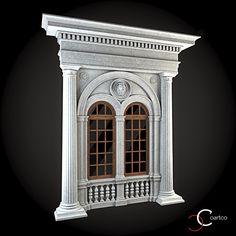 Ornamente Geamuri Exterior Cod: WIN-034