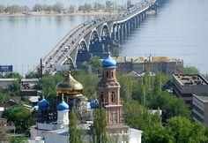 Volga River Saratov