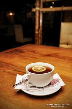 A hot cup of tea is soothing to the soul.