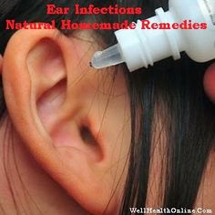 Natural Homemade Remedies For Ear Infections #earache #earinfections #remedies