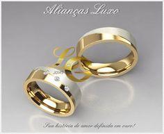 Joias by LG - Por LG anéis de formatura: Alianças de casamento exclusiva