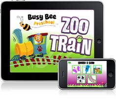 Really cool preschool apps for your iphone or ipad!