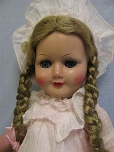 Vintage 1950s doll from Germany