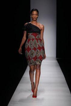 Christie Brown Arise Africa Fashion Week