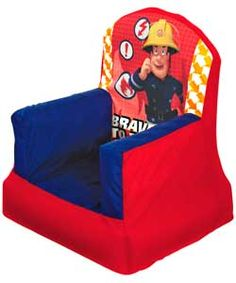 Fireman Sam Cosy Chair.