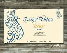 1 professional premade business card design digital file 3.5in x 2in  • After your payment is received via Paypal you will be sent an email confirming your order • I wil... #pcfteam #art