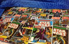 Star Wars Comics Blanket by Brookidlyn on Etsy, $35.00