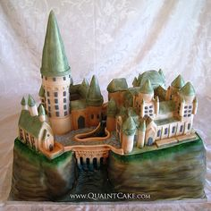 What an awesome hogwarts cake