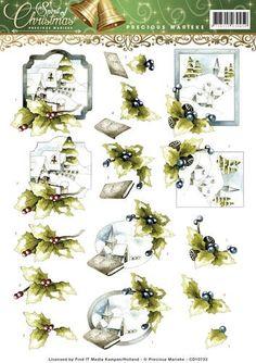 CD10733-3D Knipvel - Precious Marieke - Spirit of Christmas - Landscape