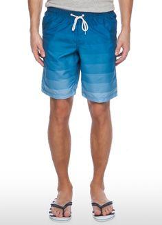 Плавательные шорты с градиентными полосками за 799р.- от OSTIN