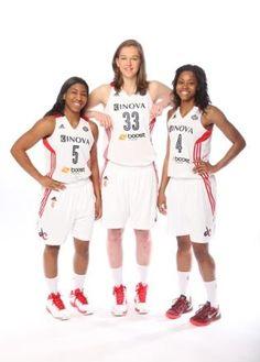 The Rookies! Nadirah McKenith, Emma Meeseman, and Tayler Hill