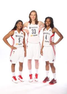 The Rookies! Nadirah McKenith, Emma Meeseman, and Tayler Hill