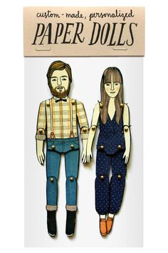 gifts illustration Send illustrator Jordan Grace Owens a picture and shell transform you into a personalized paper doll. Fun Family Portraits, Family Posing, Paper Art, Paper Crafts, Paper Puppets, First Anniversary Gifts, Wedding Anniversary, Anniversary Ideas, Aniversary Gift