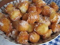Tvarohové koblížky rychlé Pretzel Bites, Pancakes, Cheesecake, Sweets, Bread, Baking, Food, Wafer Cookies, Recipes