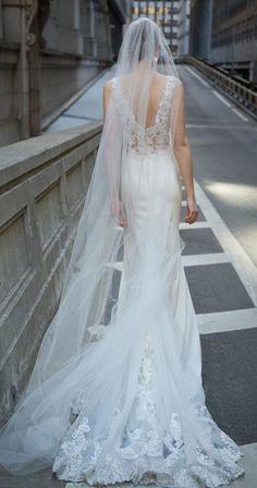Beautiful Lace Wedding Dress by Kelly Faetanini