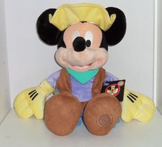 Disney Store Mickey Mouse Plush Club Talent Roundup Toy Exclusive Original NWT  #DisneyStore