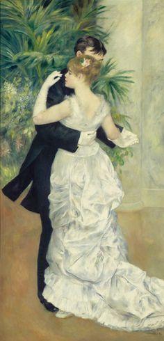 Danse à la ville. - Pierre Auguste RENOIR