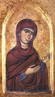 The Theotokos icon, St Catherine's Monastery.