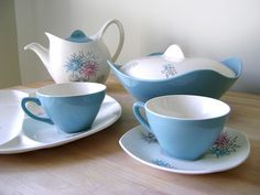1950s Midwinter pottery. I've started collecting the Cannes range. If anyone has Midwinter at home..don't throw out!
